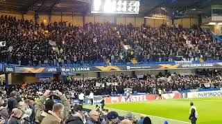 PAOK Fans at Stamford Bridge