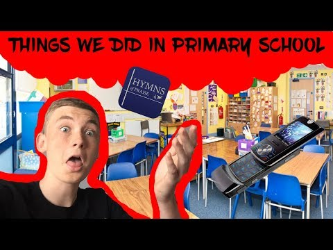 5 THINGS WE ALL DID IN PRIMARY SCHOOL!
