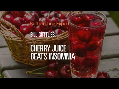Cherry Juice Beats Insomnia