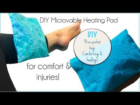 DIY MIcrowaveable Heating Pad