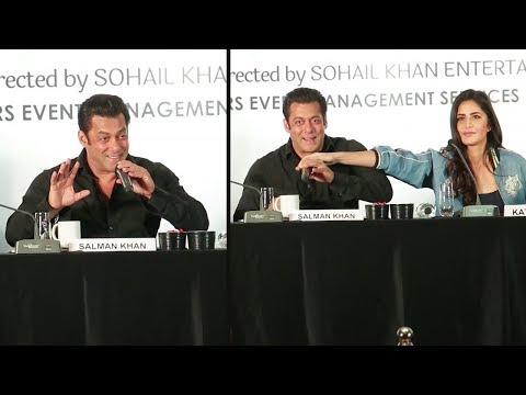 Salman Khan's FUNNY Moments With Girlfriend Katrina Kaif