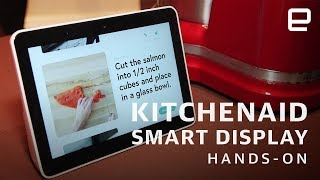 KitchenAid Smart Display Hands-On: Google Assistant gets waterproof at CES 2019