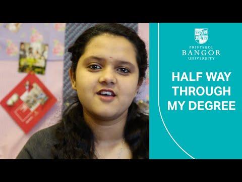 Half way through my university degree course - with Raji