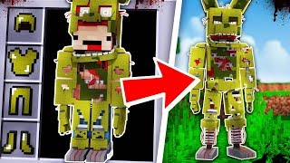 HOW TO BECOME SPRINGTRAP FROM FIVE NIGHTS AT FREDDY