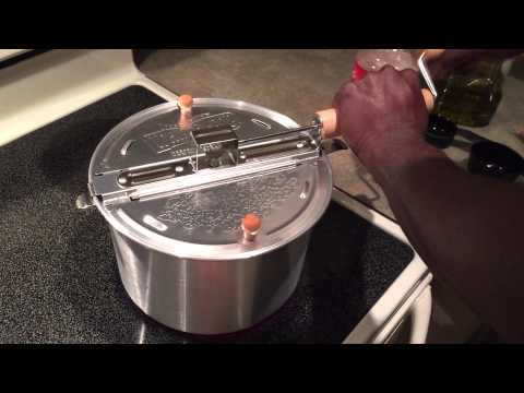 Whirley Pop Popcorn Popper Review/Demo