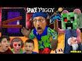 PIGGY In SPACE FGTeeV Builds Custom Minecraft Creeper Map NEW BUILD MODE