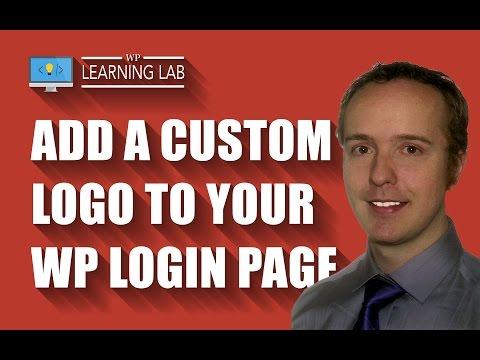 WordPress Login Page Logo - Add A Custom One - Replace WordPress Logo | WP Learning Lab