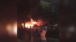Guangdong KTV fire kills 18, injures 5; arson suspected