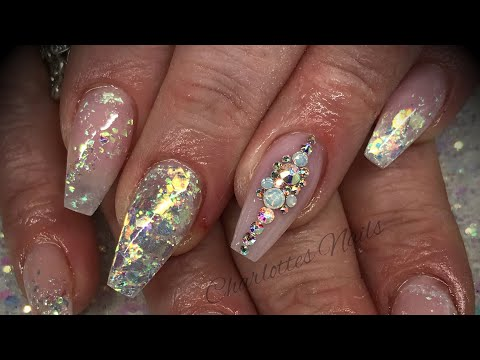 Acrylic nails - infill & redesign