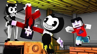 Minecraft - Bendy and the Ink Machine - WHO DID ALICE KILL?