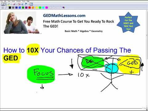 How to 10 X  Your Chances of Passing The GED