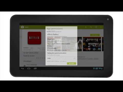 RCA Tablets | Apps Install and Open (Android 4.1)