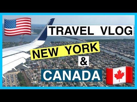 TRAVEL VLOG: New York & Canada