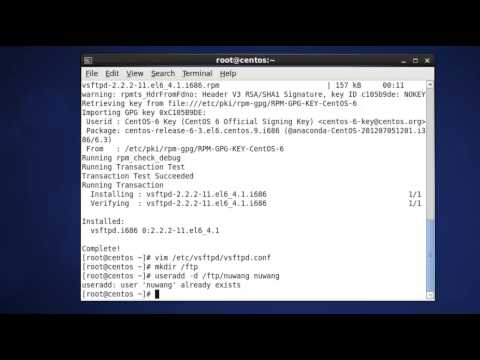 How to Configure FTP Server on CentOS 6