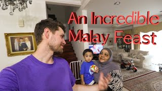 MY NEW FAMILY: Eating AUTHENTIC MALAY FOOD and Learning The Truth About MUSLIMS!