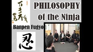 Philosophy of the Samurai and Ninja