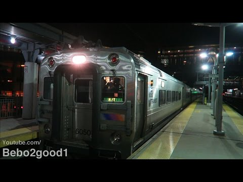 NJT/Metro-North New Haven Football Train at Stamford, CT RR