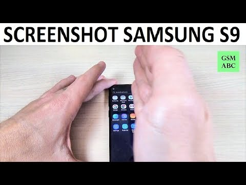 How to Take a SCREENSHOT on Samsung Galaxy S9
