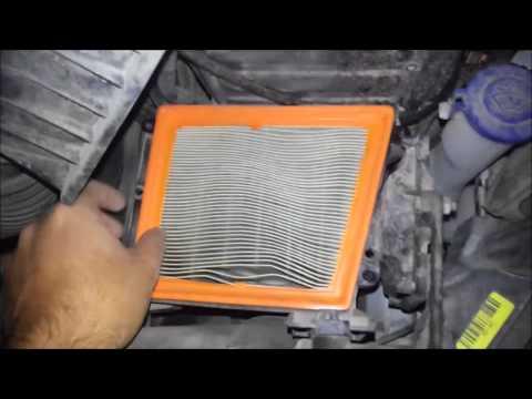 Ford Fiesta 2013 1.25 82 PS aracın hava filtresi (air filter) değişimi nasıl yapılır?
