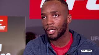 Savage recognises savage! Leon Edwards reacts to Jimi Manuwa