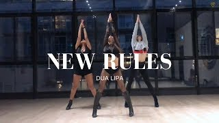 Download NEW RULES - Dua Lipa II MONICA GOLD CHOREOGRAPHY