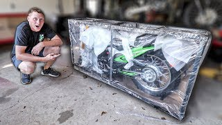 They Sent Me A Motorcycle In A Box..