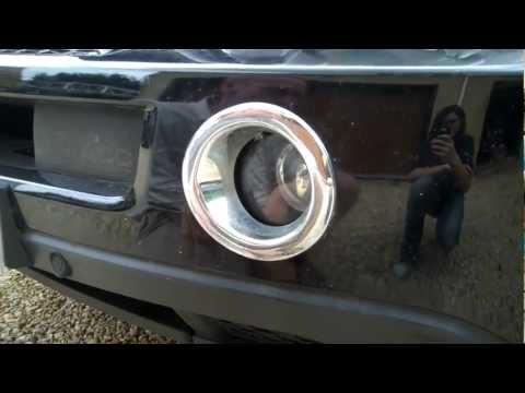 How to change Fog Light / Fog Lamp bulb in Range Rover Sport 2005-09