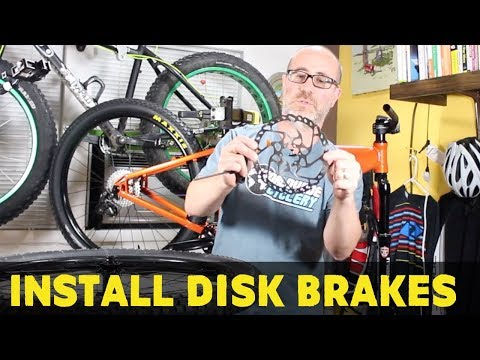 How to install hydraulic brakes on a mtb | How to build a MTB | Bike Build