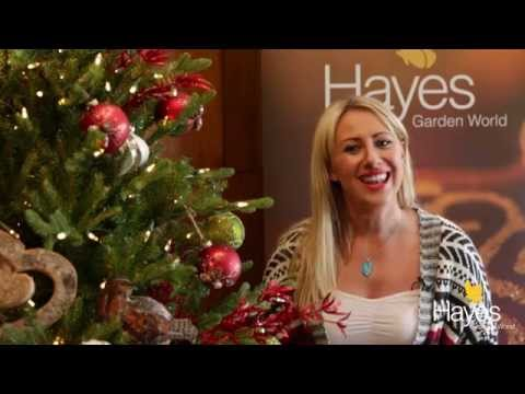 Artificial Christmas Trees Promotional Video | Hayes Garden World