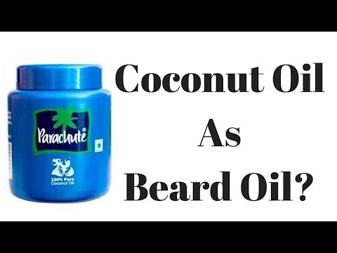 Common Coconut Oil As Beard Oil? Does it Work? | Beard grooming | Hindi