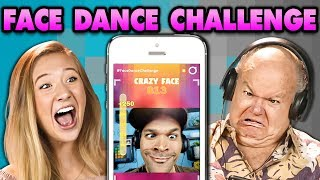 GENERATIONS PLAY THE FACE DANCE CHALLENGE! (React: Gaming)