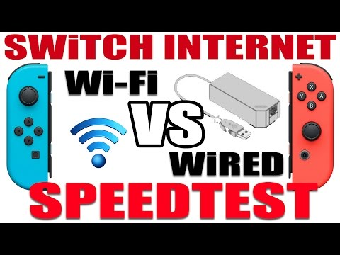 SWITCH INTERNET SPEEDTEST | Wi-Fi VS. Wired (LAN Adapter)