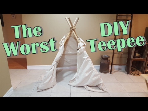 Making A Teepee For Baby Shower - Baby Name & Travel Day