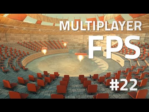 Making a Multiplayer FPS in Unity (E22. ARENA) - uNet Tutorial