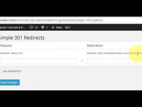 Keep Your Old URLS with Simple 301 Redirects Plugin for WordPress