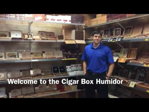 Cigar Box Humidor