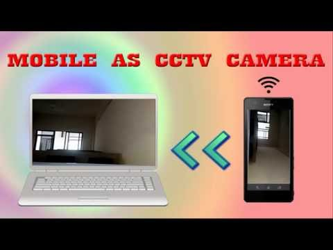How to use mobile camera as IP Web camera without internet connection  (LAN Camera)?