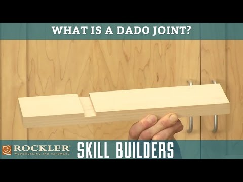 What is a Dado Joint? | Rockler Skill Builders