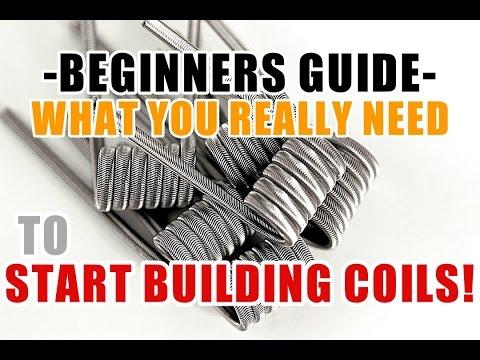 BEGINNER COIL BUILDING SERIES - EPS. 1 - TOOLS - DIAMETER - WIRE - RESISTANCE