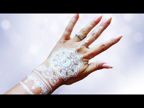 WHITE HENNA IN A FLASH-Removable | Beauty Banter