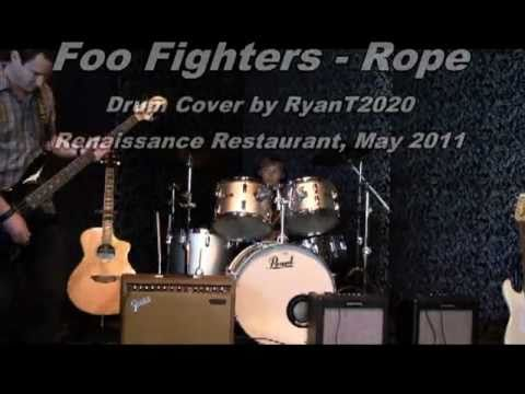 Foo Fighters - Rope, Drum cover by RyanT2020