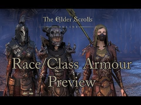 ESO - Race/Class Armor preview (FEMALE CHARACTERS)