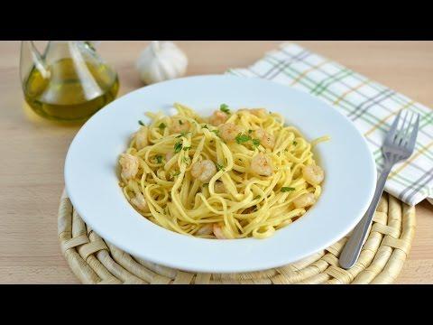 Garlic Shrimp Linguine - Quick & Easy Pasta Recipe