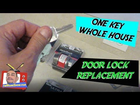 ONE KEY - Multiple Door Locks