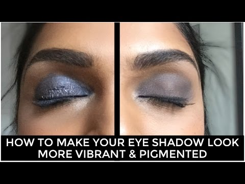 How to Make Your Eye Shadow Look More Vibrant (As Seen On Dr. Oz)