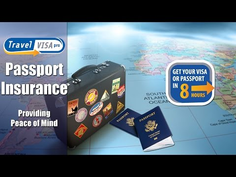 Why Should You Get Passport Insurance?