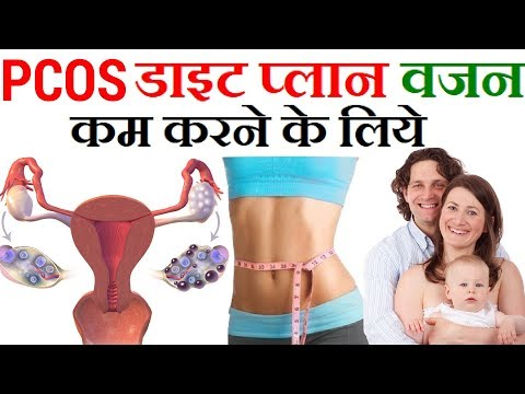 Indian Meal Plan To Lose Weight Fast   PCOD/PCOS Diet Plan for Weight Loss in Hindi