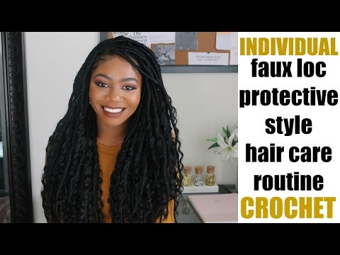 Hair Talk | How I Maintain My Faux Locs | Hair Care Routine & Products I Use on My Protective Styles