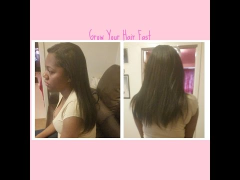 How To Grow And Maintain Healthy Relaxed Hair