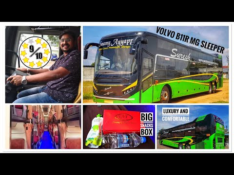 Xxx Mp4 16 Hrs Longest Bus Journey In A Luxury Volvo AC Sleeper Bus Swamy Ayyappa Travels Bus Review 3gp Sex